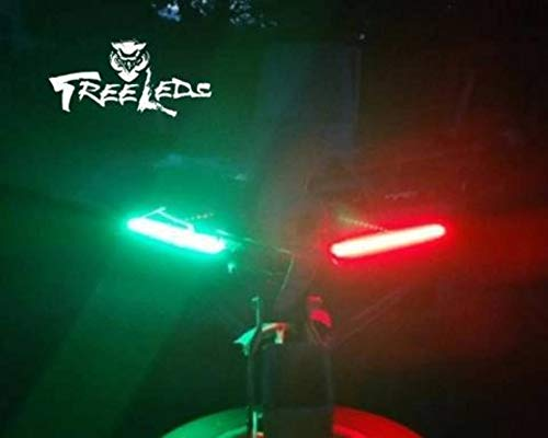 Tree Leds Marine Navigation Boat Bow LED Lighting Waterproof Red & Green Stripe Kit