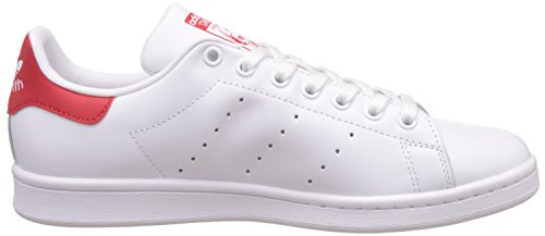 Adulte Running Red Ftw Adidas Ftw White Mixte Collegiate Running Baskets Blanc Smith Originals Stan White qZXf0T