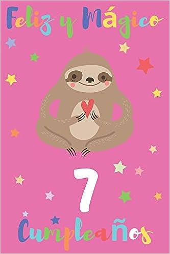 Feliz y Mágico 7 Cumpleaños: Regalo para Niños o Niñas de 7 ...