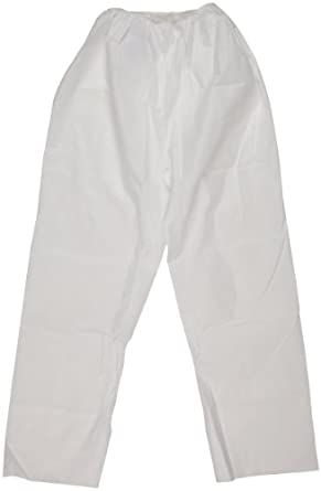 Kimberly-Clark KleenGuard A20 White XX-Large Select Breathable Particle Protection Pants 36225 (50 per Case)
