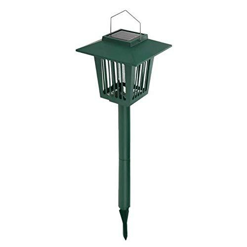 GXOK Solar Powered Lawn Lamp,Landscape Lights,Garden Decoration Light, Lawn Light LED Lamp Garden Light (Green)]()