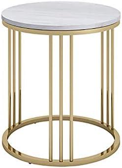 安定した メタルナイトベッドサイドサイドテーブル、強く、耐久性、重負荷容量、ベッドルームリビングルームに適した、等 ファッション (Size : 50×55cm)