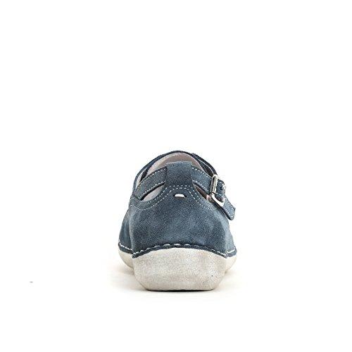 Marina Seval Scarpe&Scarpe - Sneaker mit Laserdetails, Leder - 37,0, Jeans