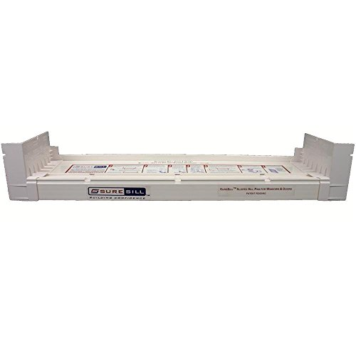 SureSill Sloped Sill Pan for Door and Window Installation and Flashing 4-1/8 In. x 39 In. (Complete Pack)