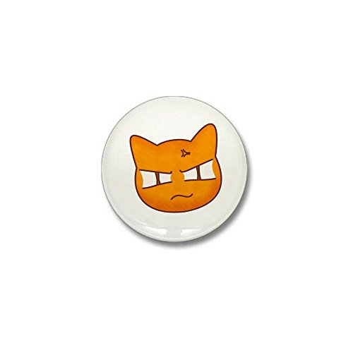Kyo Basket Sohma Fruits - CafePress Fruits Basket - Sohma Kyou as a Cat - Mini Button 1