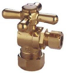 Polished Brass Angle - 8