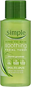Simple Kind To Skin Facial Toner Soothing, 50ml