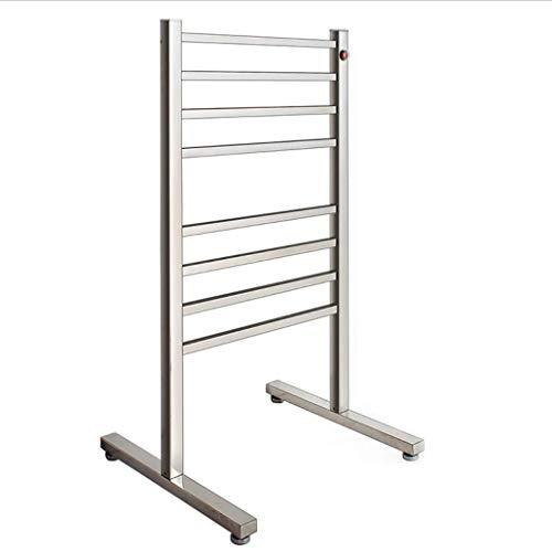 TuTu Standing Stainless Steel Electric Heated Towel Rail/Bathroom Radiator /Towel Warmer ()