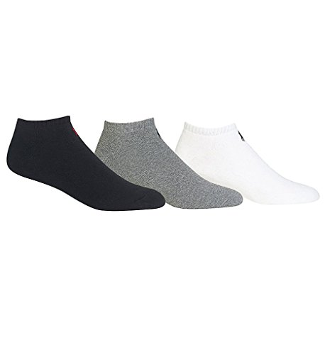 Polo Ralph LaurenBlack, White and gray Casual Socks Sz 6-12 1/2