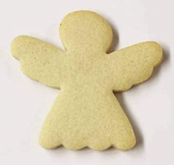 Scott S Cakes Undecorated 3 5 Small Christmas Angel Sugar Cookies