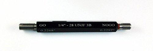 1/4-28 UNJF Class 3B Taperlock Thread Plug Gage -