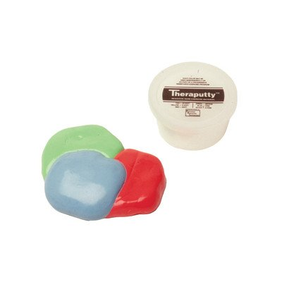 2 Ounce Theraputty Exercise Material [Set of 3] Color / Texture: Black / X-Firm