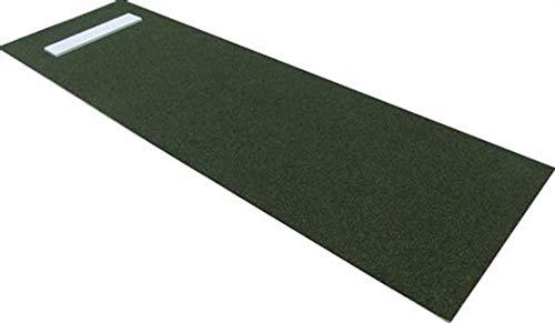 (Premium 3' X 10' Softball Pitching Mat in Green)
