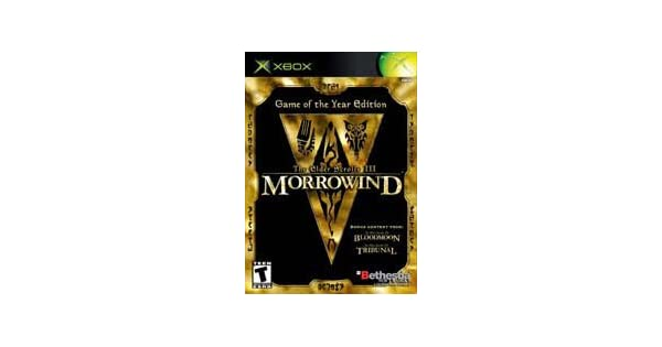 The Elder Scrolls III: Morrowind (Game of the Year Edition