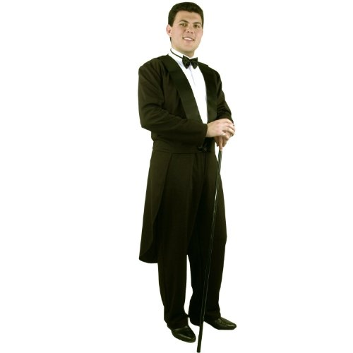 Tuxedo Costumes (Men Medium (40-42 Jacket) New Formalities Tuxedo Costume (Cane, shoes and shirt not)