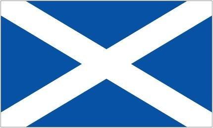 """Scottish """"St Andrews Flag 5Ft X 3Ft"""" Saltaire"""