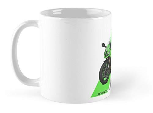 b228f18ccb3 Amazon.com: Land Rus Kawasaki Ninja ZX-10R 2011 Mug - 11oz Mug - Features  wraparound prints - Dishwasher safe - Made from Ceramic - Best gift for  family ...