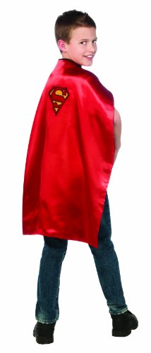 DC Comics Classics Batman / Superman Reversible Cape (Superman Costume For Child)