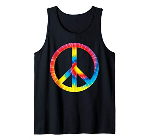 Peace Sign Tie Dye Design | Hippies Symbol