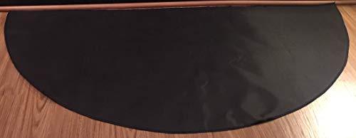 PyroProtecto Hearth Rug, Black, 24