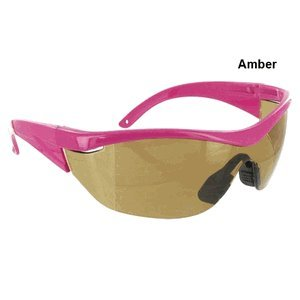 Safety Girl Navigator Safety Glasses - Pink Amber 1 Pair -