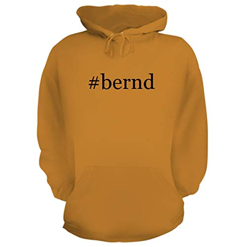 BH Cool Designs #Bernd - Graphic Hoodie Sweatshirt, Gold, ()