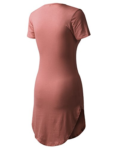Dress Atplr001 T All Women's You mauve Short in USA Dolphin for Made Shirt wwP0q6Xf