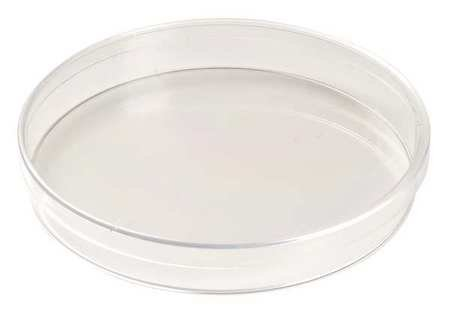 Celltreat 229651 Tissue Culture Treated Dish, Sterile, 25-28mL Working Volume, 150mm D x 20mm H (Case of 100)