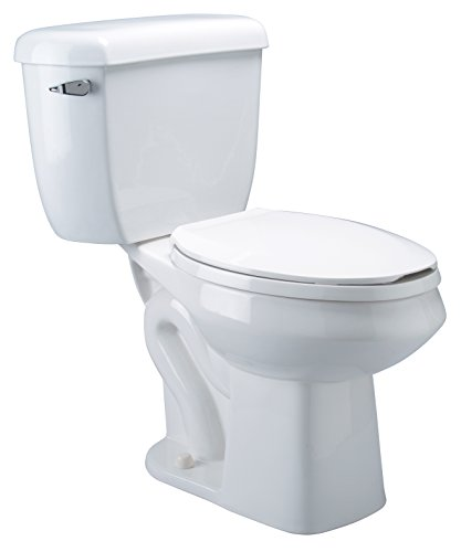 Zurn Z5562 ADA, Dual Flush, Elongated Pressure Assist, 1.6/1.0 gpf, Two-Piece Toilet