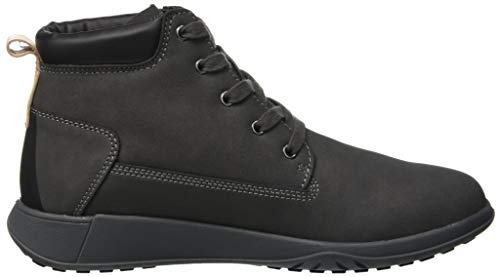 Houston Black Shark Lumberjack Grigio Chukka Uomo Stivali Winter M0747 USqav