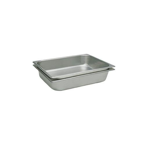 2 1/2'' Deep, Full Size Standard Weight Economy Stainless Steel Steam Table / Hotel Pan