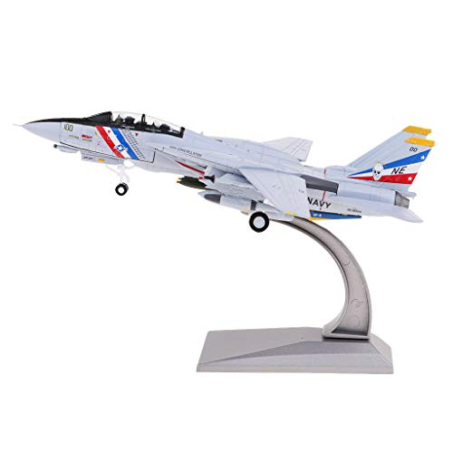 (Fenteer 1/100 Alloy F-14 Tomcat Fighter American Military Plane Aeroplane Collection)