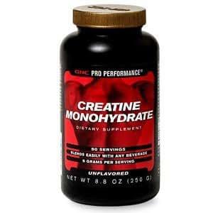 GNC Pro Performance Creatine Monohydrate 50 Servings