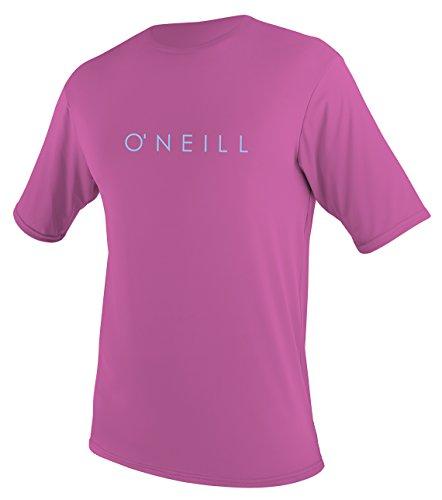 O'Neill Youth Basic Skins Upf 30 + Short Sleeve Sun Shirt