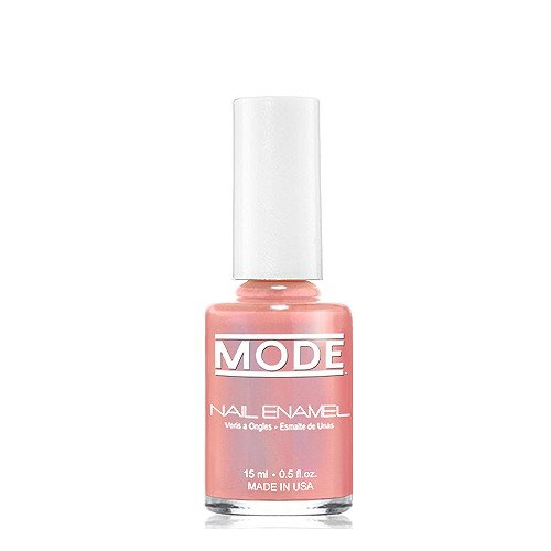 Long Wear Paint (MODE Nail Enamel - .50 fl oz. Long Wear, High Gloss, Chip Resistant Cruelty-Free/Vegan Salon Nail Polish Formula - MADE IN THE BEAUTIFUL USA (Mauved Nude Pink with Blue Silk Luster - Shade #150))