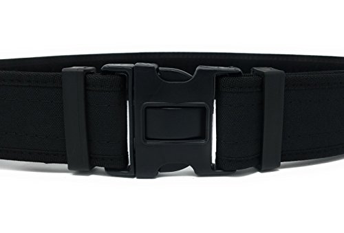 "Olive Reversible Belt (Tactical Black Belt By Houston | Thick Military Police Men's Nylon Style | Strong & Comfortable | 2"" Wide 