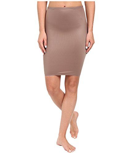 SPANX Two-Timing 1/2 Slip Mineral Taupe/Soft Nude XL (Spanx Lust Have High Waist Half Slip)