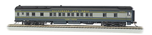 Bachmann Industries B & O Loch Lomond Ho Scale 80' Pullman Car with Led Lighting
