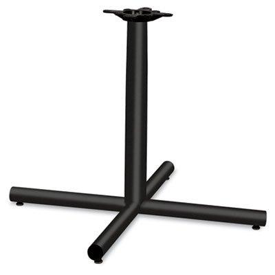 HON XSP36P Single Column Steel Base, 36w x 36d x 27-7/8h, Black