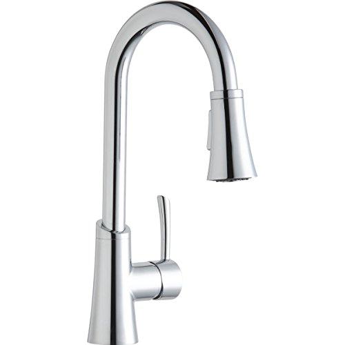 Elkay LKGT3032CR Gourmet Chrome Single Lever Pull-down Spray Bar Faucet ()