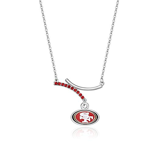 Pro Specialties Group NFL San Francisco 49ers Dual Infinity Necklace