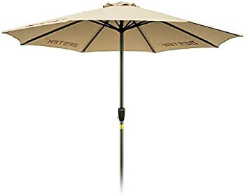 BESTEK Rust Free 9ft Outdoor Umbrella