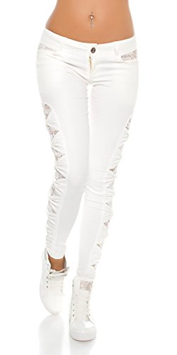 Koucla Weiß Pantalon Koucla Pantalon Femme Femme Weiß BRxrB