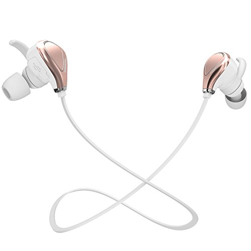 Bluetooth Headphones Cancelling Sweatproof microphone