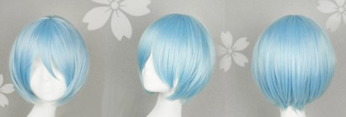 Heat-resistant wig Neon Genesis Evangelion Ayanami Rei (Rei) cosplay wig costume (japan import) by sweet-tokyo-shop