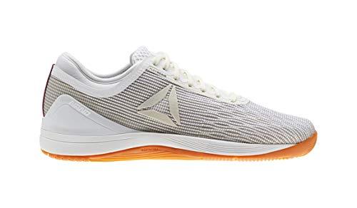 Reebok Women's CROSSFIT Nano 8.0 Flexweave Cross Trainer, White/Classic White/Excel, 8.5 M US (Womens Reebok Shoes)
