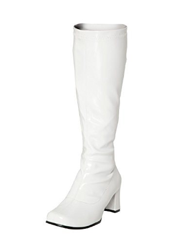 Mujer Blanco Botas Xl Shoes Buckle tTYqRZW