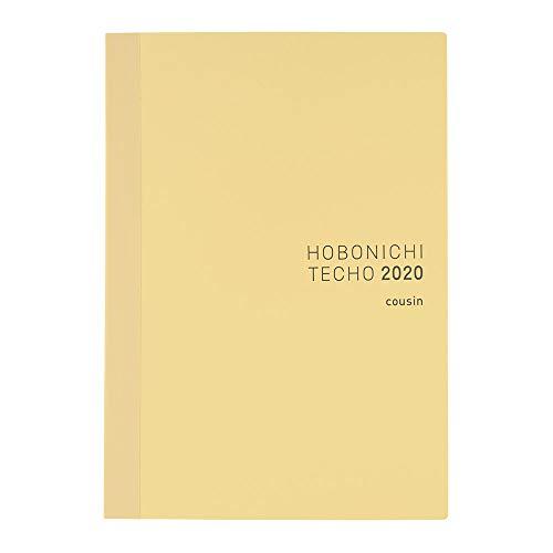 Hobonichi Techo Cousin Book (Japanese/A5/Jan 2020 Start/Mon Start)