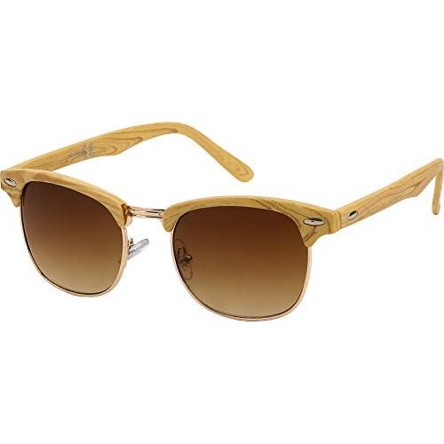 74af996c11 Delicado All Cheap Sunglasses - Liverpool - Gafas de Sol Clubmaster montura  Marrón y lentes Marrón