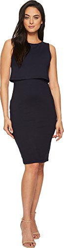 Midnight Tank Dress (Susana Monaco Women's Savannah overlayer Tank Dress Midnight X-Small)